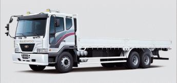 Бортовой грузовик Daewoo Cargo 11.5tonn