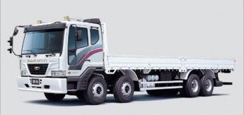 Бортовой грузовик Daewoo Cargo 19tonn