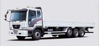 Бортовой грузовик Daewoo Cargo 22.5tonn RR-Tri Axles
