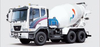 Бортовой грузовик Daewoo Mixer Truck