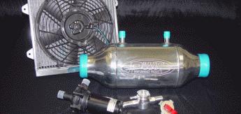 Жидкостный интеркулер