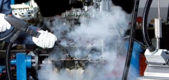 Очистка автомобилей и их агрегатов