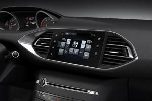 Peugeot 308 панель управления