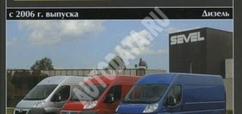 Citroen Jumper/Peugeot Boxer/FIAT Ducato (с 2006)