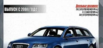 AUDI A6/ALLROAD модернизации 2006,2008,2009 годов. Руководство по ремонту и эксплуатации