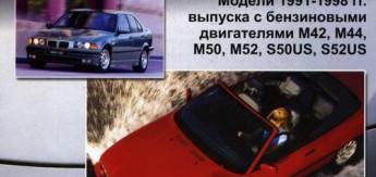 Книга BMW 3 серии (Е36). Устройство, техническое обслуживание и ремонт