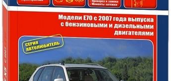 Книга BMW X5. Модели E70 выпуска с 2007 года