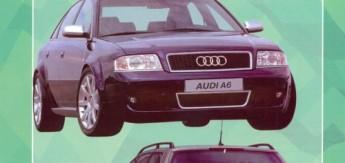 Книга Audi A6 (97-04) б/д Ремонт. Эксплуатация