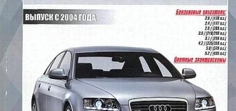 Audi А6 / S6 / RS6 Allroad (с 2004) Ремонт. Эксплуатация