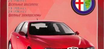 Руководство по ремонту и эксплуатации Alfa Romeo 156 (Альфа Ромео 156)