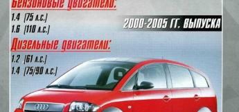 Книга Audi А2 (2000-05) Ремонт. Эксплуатация