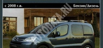Руководство по эксплуатации Citroen Berlingo (В9)/Peugeot Partner/Partner Tepee