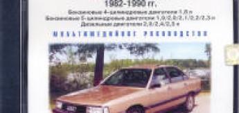 CD Диск AUDI 100 c 1982-1990г