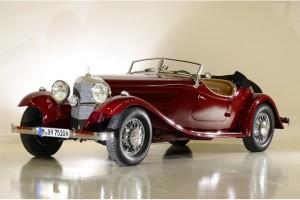 Mercedes 380 1933 года