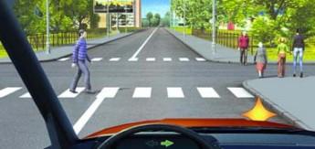 ешеходные переходы и места остановок маршрутных транспортных средств