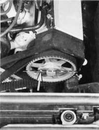 проворачивание двигателя audi 80