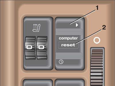 управление бортовым компьютером на моделях выпуска до января 1988 г. audi 100