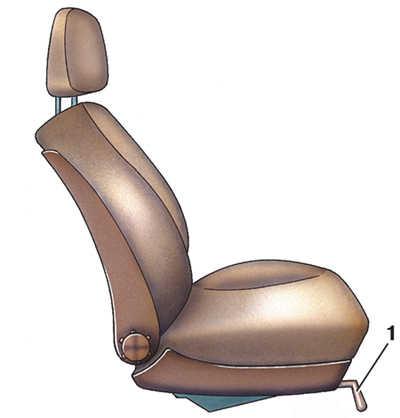 передние сиденья с механической регулировкой audi 100
