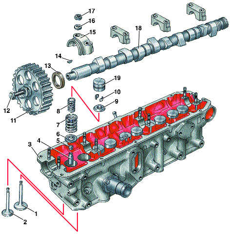 разборка и сборка двигателя audi 100