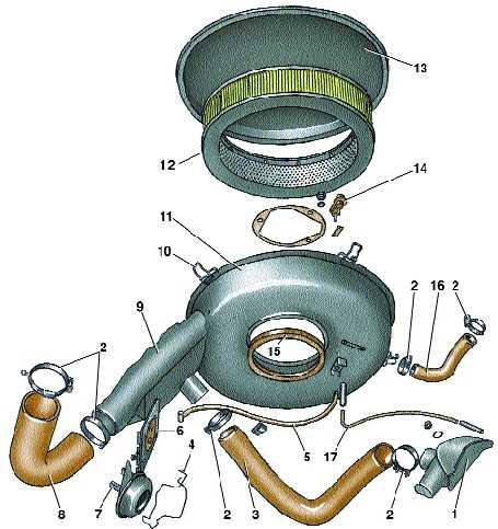 система питания карбюраторных двигателей audi 100