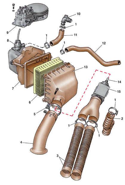 система питания двигателей с впрыском топлива audi 100