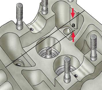 осмотр, дефектовка и ремонт деталей головки блока цилиндров audi 100