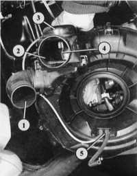 отопление впускного коллектора audi 80