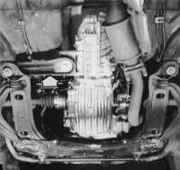 снятие и установка механической коробки передач (кп) audi 80