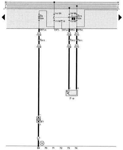 вентилятор для охлаждающей жидкости, термовыключатель для вентилятора audi 80