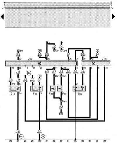 электронная система впрыска audi 80