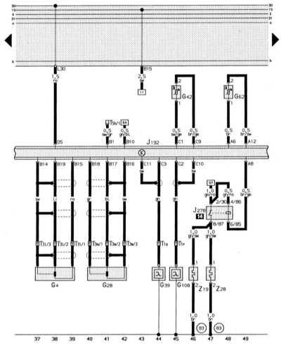электронная система впрыска, лямбда-зонд audi 80