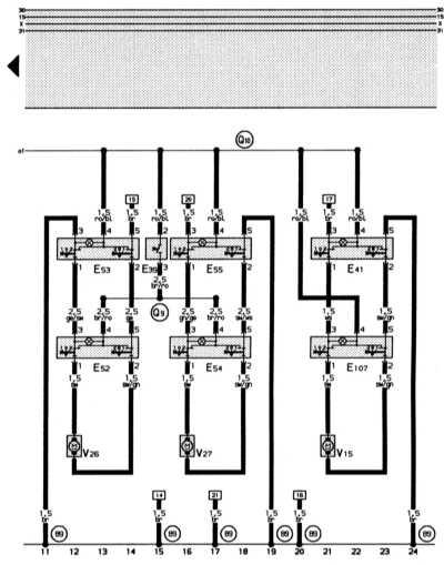 электрические стеклоподъемники audi 80