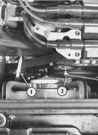 натяжение клинового либо поликлинового ремня audi 80
