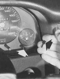 индикатор количества топлива audi 80