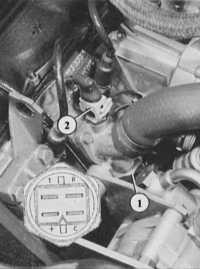 индикатор температуры охлаждающей жидкости audi 80