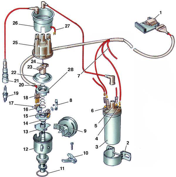 транзисторная система зажигания audi 100
