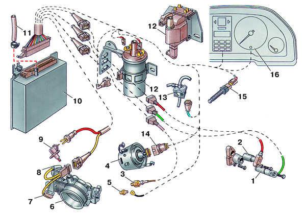 электронная система зажигания audi 100
