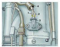 проверка и замена датчика температуры воздуха audi 100