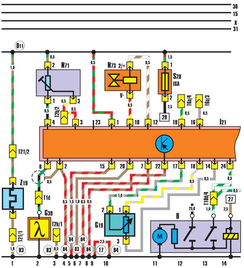 устройство впрыска ke-jetronic audi 100