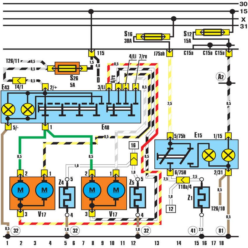 наружные зеркала с электроприводом и электрообогревом audi 100