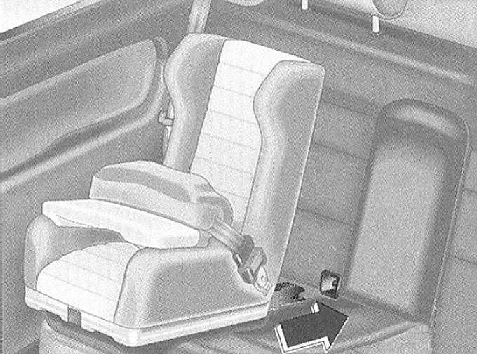 системы безопасности. перевозка детей audi a3