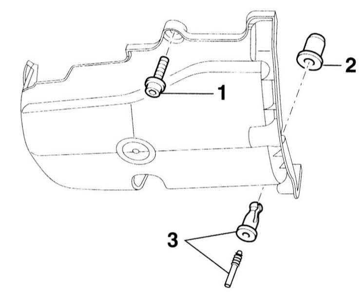 снятие и установка поддона картера/замена уплотнительной прокладки поддона картера audi a3