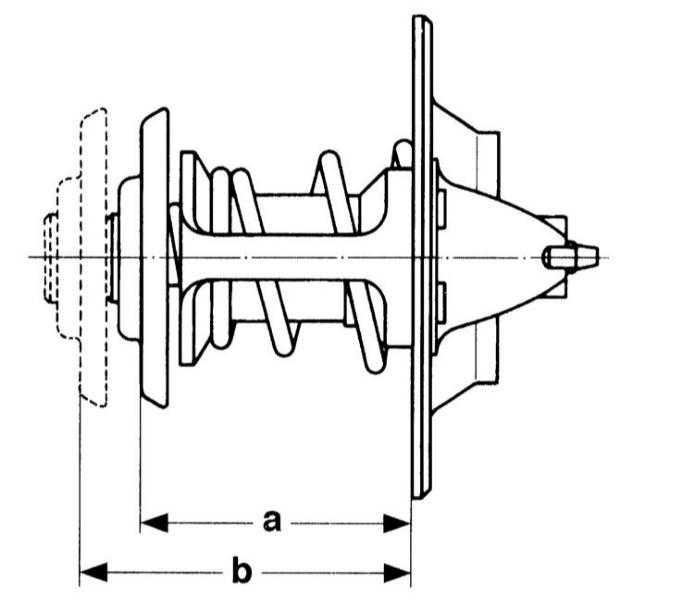 снятие, установка и проверка термостата audi a3