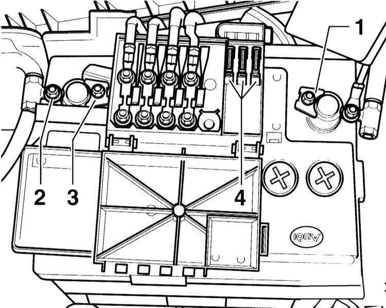 проверка состояния батареи, уход за ней и зарядка audi a3