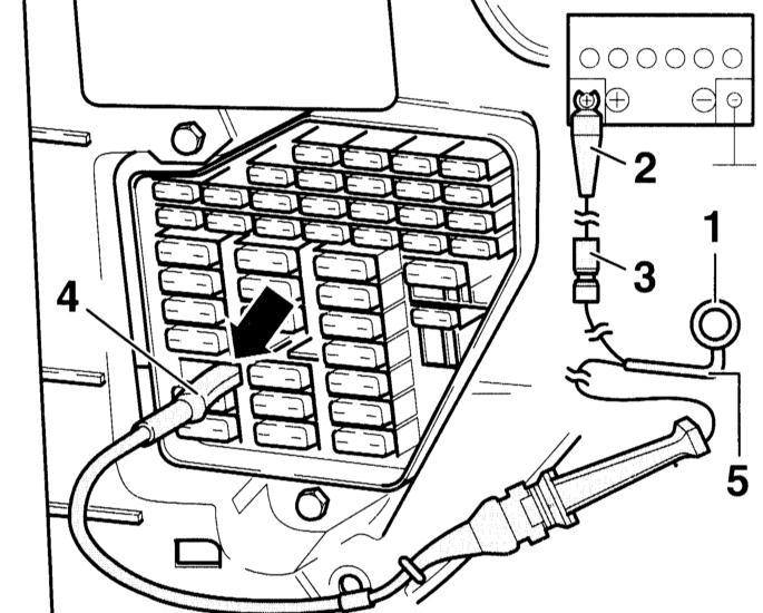 подключение дистанционного управления топливным насосом для проведения проверок audi a3