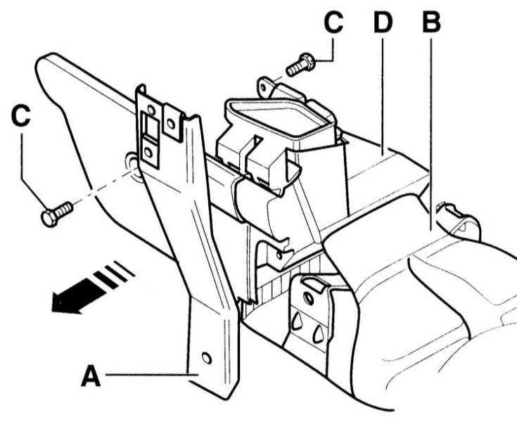 снятие и установка сопла района ног audi a3