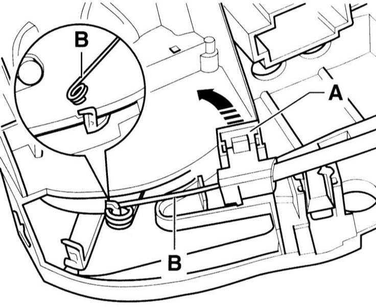 снятие и установка тросов привода управления отопителя audi a3