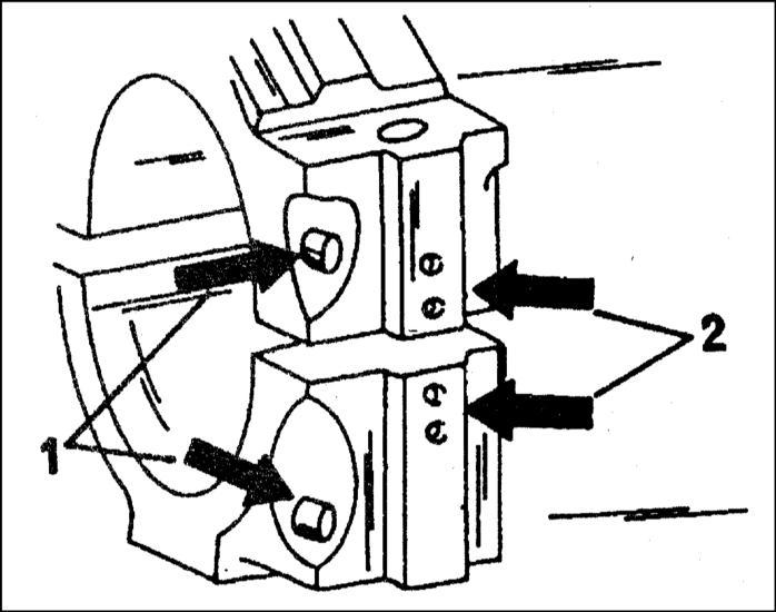 проверка, сборка и установка шатунно–поршневой группы audi a3